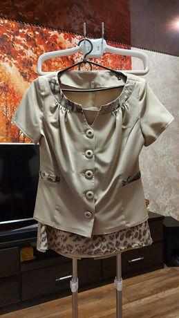 Продам женский, летний костюм (с юбкой)