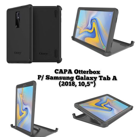 "Capa tablet Samsung Galaxy tab a 2018 10,5"" Otterbox defender"
