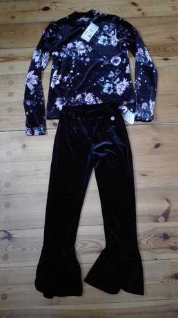 Spodnie + bluzka nowe z metkami KappAhl rozm. 140-146