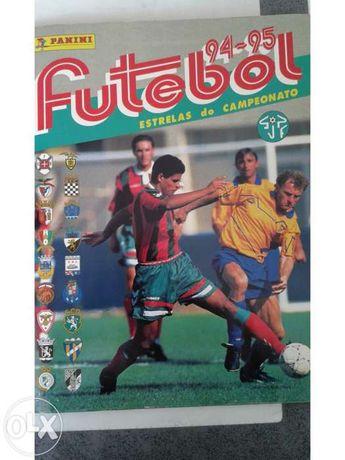 Caderneta futebol 94/95