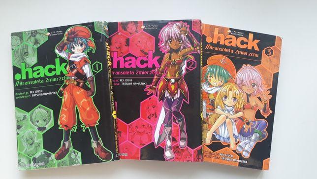 Manga .hack//Bransoleta Zmierzchu