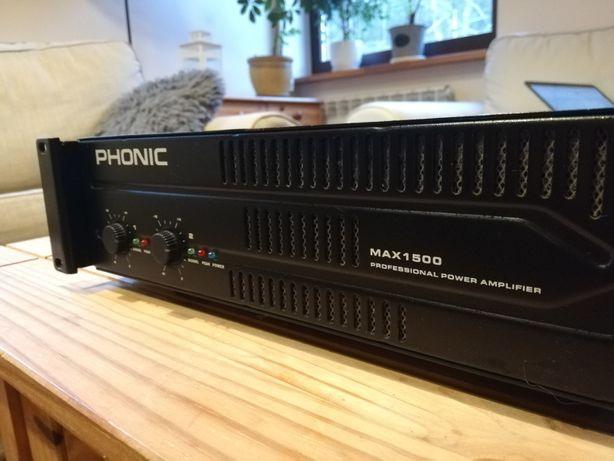 Wzmacniacz audio Phonic Max 1500 końcówka mocy