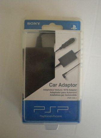 Sony PSP carregador de carro - novo na caixa / selado
