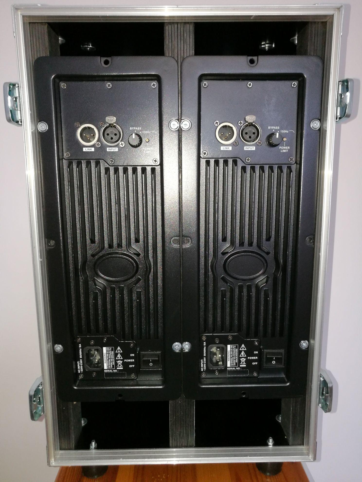 Sprzedam 2 moduły w klasie D Pascal Audio AM 912 o mocy 1000 wat każdy