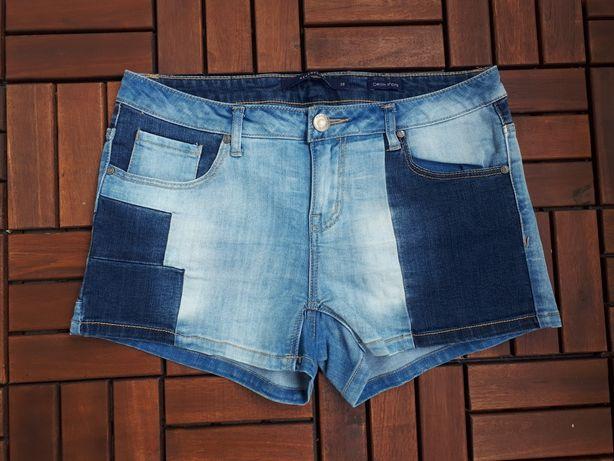 Reserved szorty krótkie spodenki 38 M jeansowe