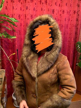 Дублянка тепла з капюшоном