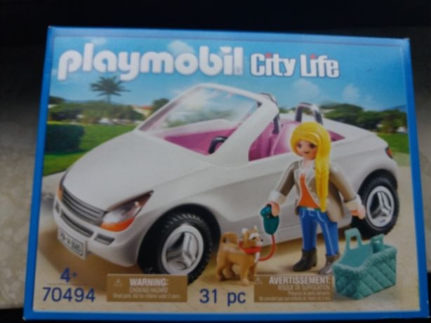 Playmobil kabriolet 70494 nowy