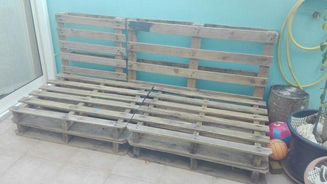 Paletes de madeira/Bom estado de conservação:OPORTUNIDADE/SALDO