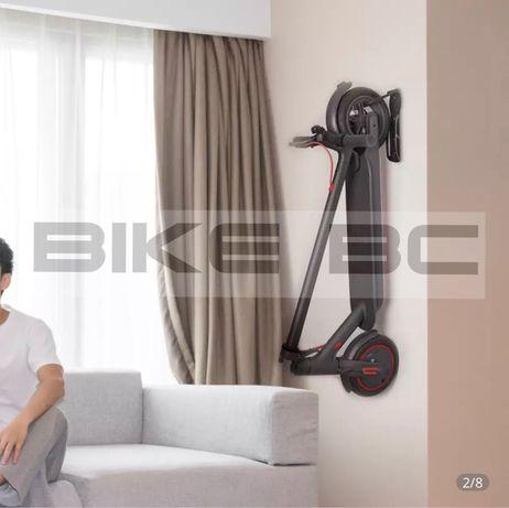 Крюк, стойка крепление на стену для самоката xiaomi m365 ninebot kugoo