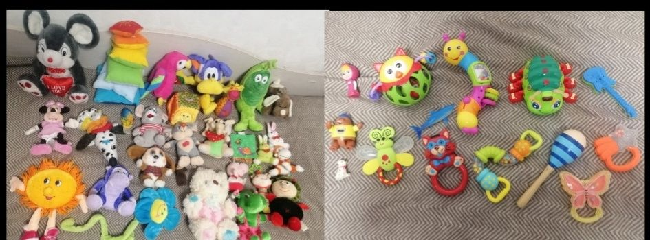 Два пакета игрушек. Цена за оба пакета Киев - изображение 1
