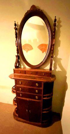 Consola com espelho - Consola Vintage