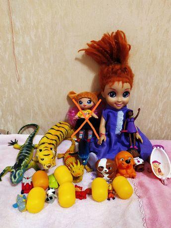 Продам игрушки куклы,Уолт Дисней,мягкие