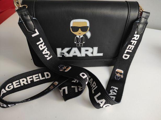 Torebka Listonoszka Karl Lagerfeld Premium