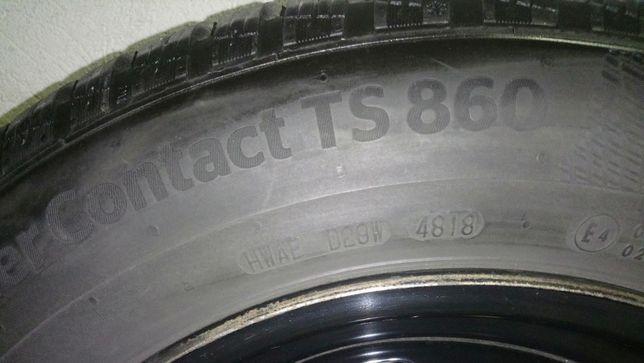 Felgi+opony Continental WinterContact TS 860 M+S