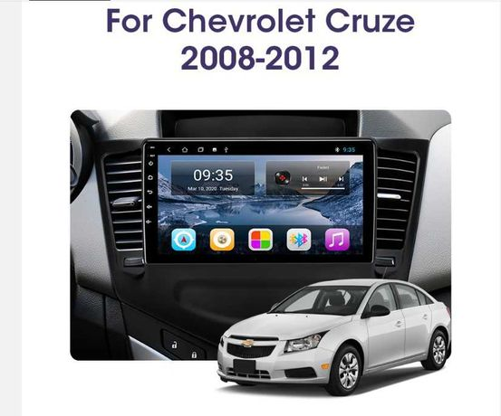 Автомагнитола Android магнитола Chevrolet Cruze 2008-2012 .