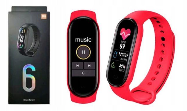 Smartwatch dla kobiet Pulsoksymetr elegancki Zegarek Połączenia SMS
