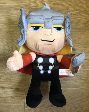 Мягкая игрушка Тор Marvel, высота 34 см. Новая
