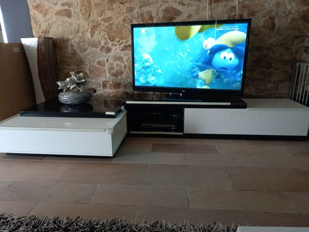 Mesa de centro e movel tv