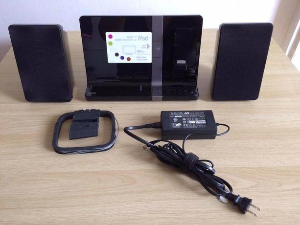 JVC UX VJ3 dock audio iPhone,iPad ,ipod.