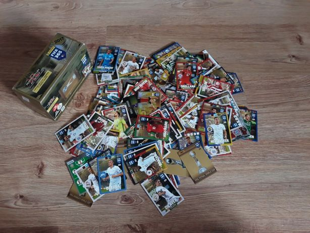 karty piłkarskie xl adrenalyn 2017 gift box 203 szt