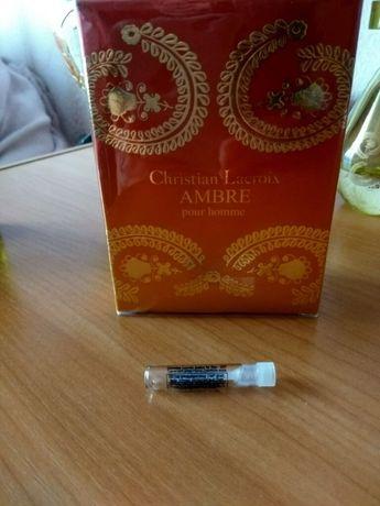 Мужская туалетная вода avon christian lacroix ambre for him