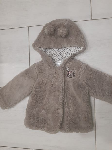 Пальто для дівчинки на 6 місяців ріст 68
