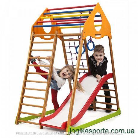 Детский спортивный комплекс, Горка, Игровая площадка, качели, уголок