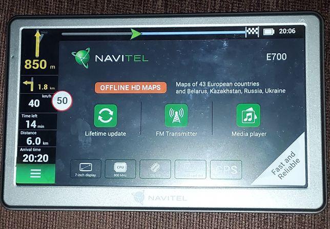 Nawigacja samochodowa Navitel E 700 Navigator, mapy Europy