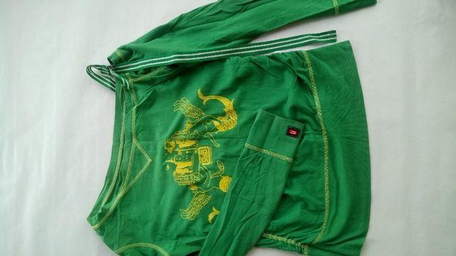 Bluzka Cropp zielona