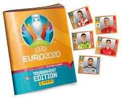 Vendo cromos EURO 2020 Tournament Edition