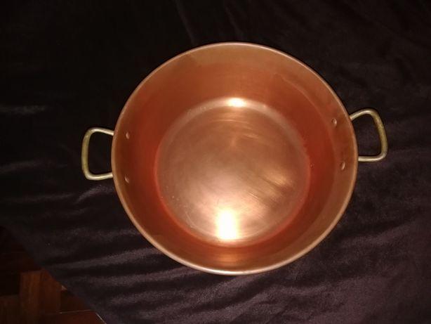 Tacho ou alguidar antigo 100% cobre