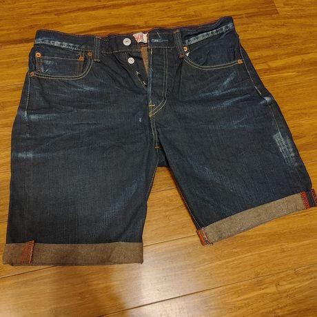 Spodenki shorty Levis 501 W32 L34 NOWE