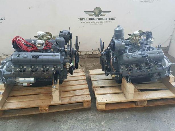 Двигатель мотор двигун Газ 53 3307 66 Паз (66-1000400)