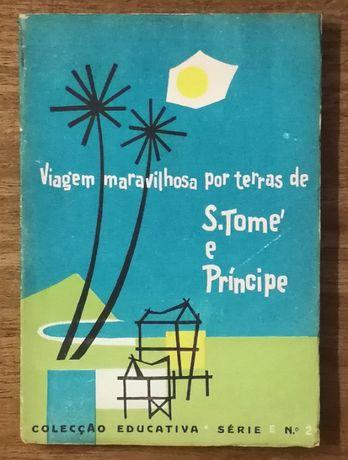 viagem maravilhosa por terras de s. tomé príncipe, colecção educativa