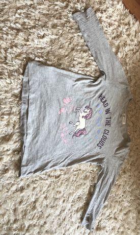 Koszulka, bluzka, T - shirt, h&m, 13 - 14 lat, 158/164 cm