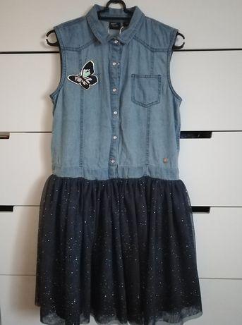 Sukienka 158 nowa z tiulem