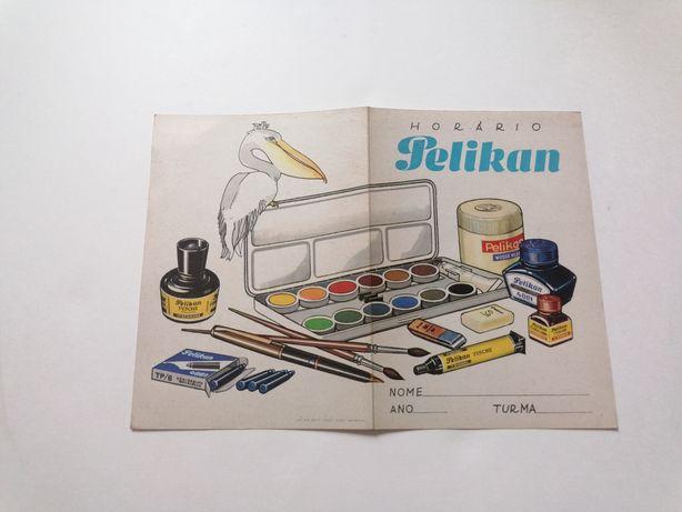 Publicidade antiga   Horário Pelikan 1967