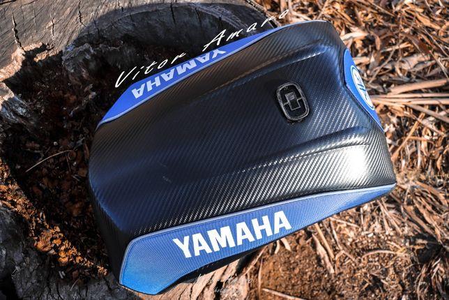 Mala Estilo Tartaruga para Moto/Motocross Yamaha(Look Carbono)|NOVA