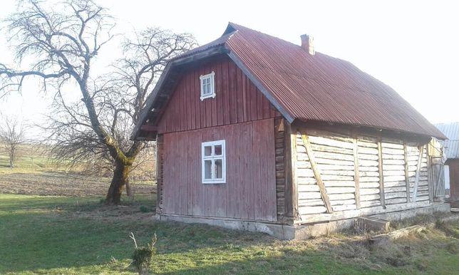 Продається земельна ділянка з будинком . Є світло.газ . село Мигово