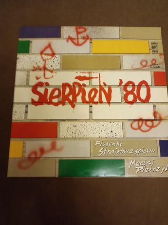 Płyta winylowa Sierpień 80