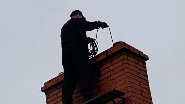 KOMINIARZ WĘGRÓW Usługi Kominiarskie  Pełen Zakres Czyszczenie kominów