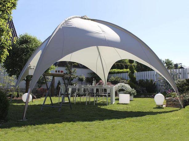 Namiot • Pawilon ogrodowy bankietowy typu kopuła / Wymiar 5,0 x 5,0 m.