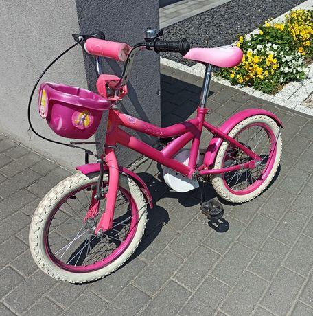 Rowerek dziecięcy 16' dla dziewczynki piekny stan sprawny! Jak nowy