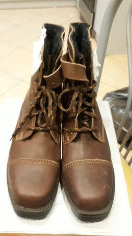 Sprzedam nowe buty skórzane zimowe trzewiki