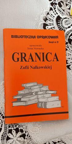 Granica Z. Nałkowskiej - Biblioteczka Opracowań