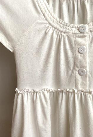 Tshirt detalhada branca