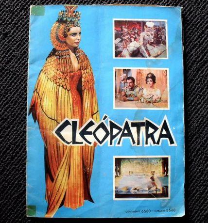 Caderneta de cromos Cleópatra de 1963 - Completa