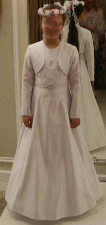 sukienka komunijna (cały komplet i jeszcze więcej)