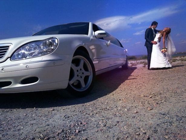 Лимузин Mercedes w 220 готовый бизнес свадьба