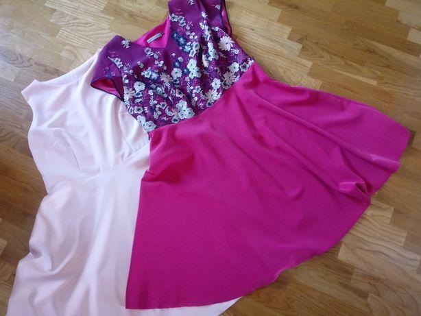 Nowe eleganckie sukienki rozmiar 48
